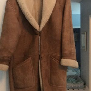 Men's Real Shearling coat